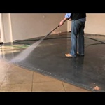 How to seal and colour old and stained concrete with DiamondCoat Tintable Sealer